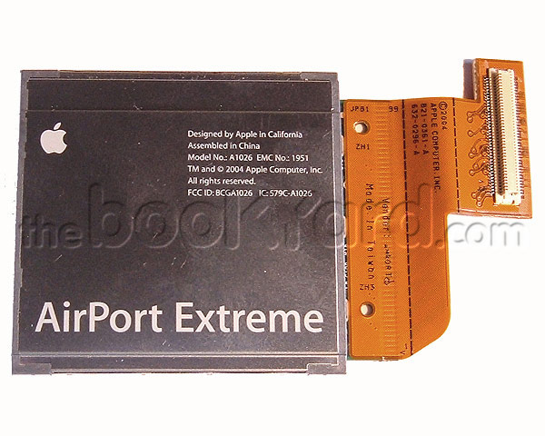"PowerBook G4 Aluminium 17"" internal Airport card (1.67GHz SL)"