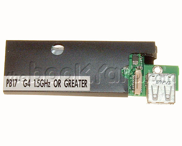 "PowerBook G4 Aluminium 17"" PMU battery/USB board (1.67GHz DL)"