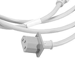 PowerMac G5/Mac Pro heavy duty mains cable (kettle), EU