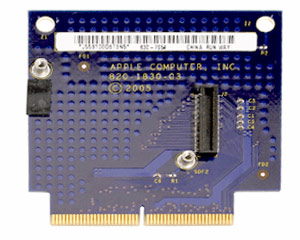 PowerMac G5 runway card (late 2005)