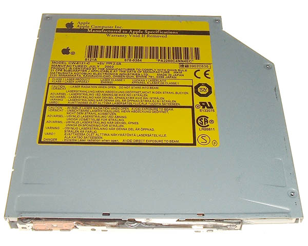 Panasonic (Matshita) 8121A Combo optical drive - 8xCD-R