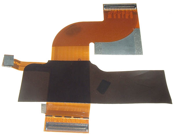 Titanium PowerBook G4 PMU/inverter flex cable (400/500MHz)