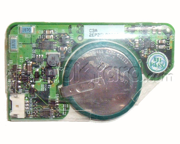 Titanium PowerBook G4 PRAM battery board (550MHz-1GHz)