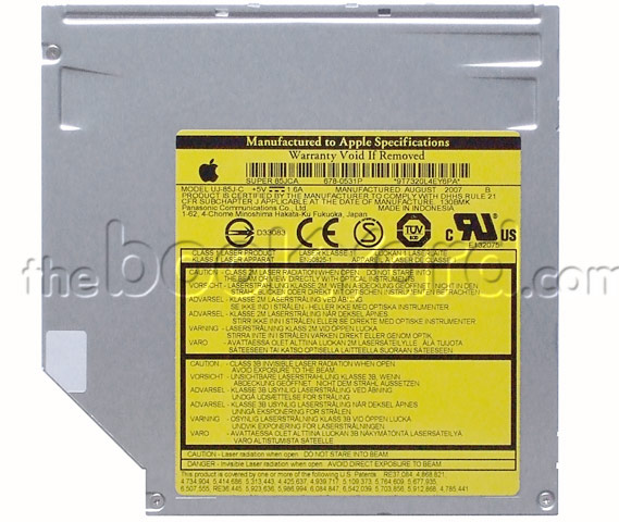 MATSHITA DVD RAM UJ 845S DRIVER FOR MAC
