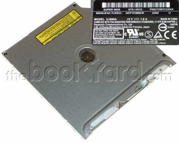 Panasonic (Matshita) UJ-868A SATA Superdrive (Apple) (V1)